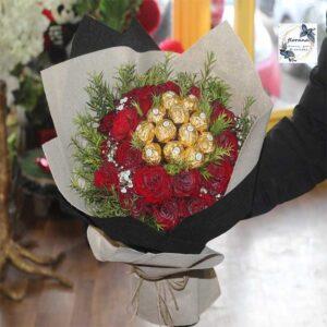 محل أزهار في محافظة الفروانية والمنطقة الرابعة لجميع المناسبات
